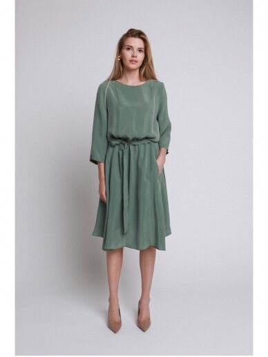 ROBI AGNES suknelė VIKI green emerald 14