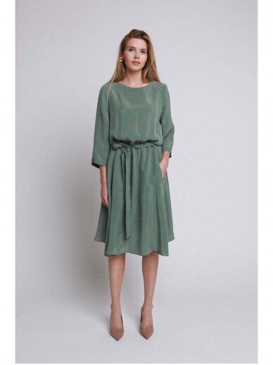 ROBI AGNES suknelė VIKI green emerald 16