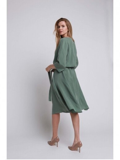 ROBI AGNES suknelė VIKI green emerald 15