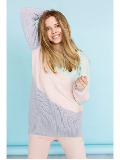 ROBI AGNES megztinis MARIELLE pink 9