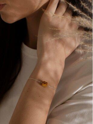 "Ketri Amber Jewelry ""Touch of modern"" apyrankė No8"