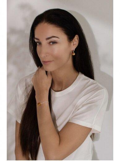"Ketri Amber Jewelry ""Touch of modern"" apyrankė No8 3"