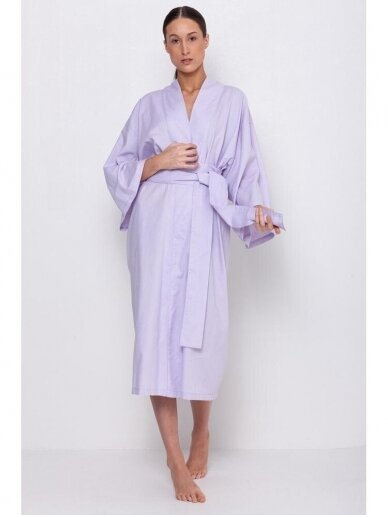 Simply Unique organinės medvilnės kimono tipo chalatas 2