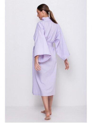 Simply Unique organinės medvilnės kimono tipo chalatas 5