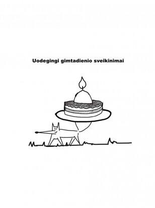 Balto Miško DOVANŲ KUPONAS-UODEGINGI GIMTADIENIO SVEIKINIMAI