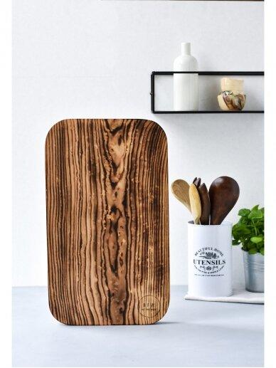BUT FIRST  WOOD medinė lentelė Dakota 2