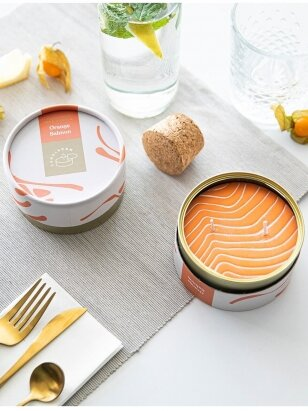 CandleCan žvakė ORANGE SALMON