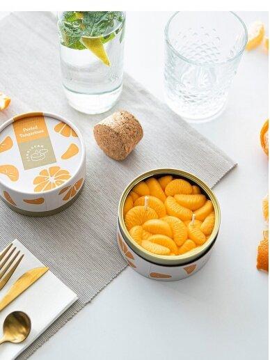 CandleCan žvakė Peeled Tangerines 3