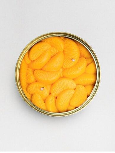CandleCan žvakė Peeled Tangerines 4