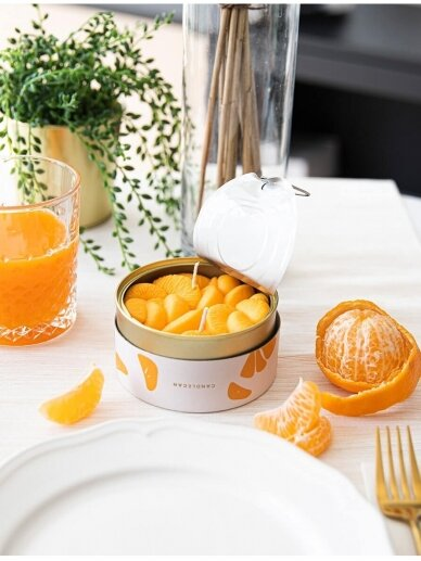 CandleCan žvakė Peeled Tangerines