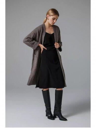 ROBI AGNES ilgas kardiganas su kišenėm CLOE 28