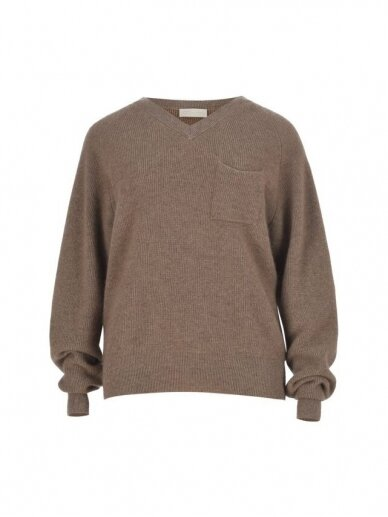 COOCOOMOS kašmyro V-neck megztinis