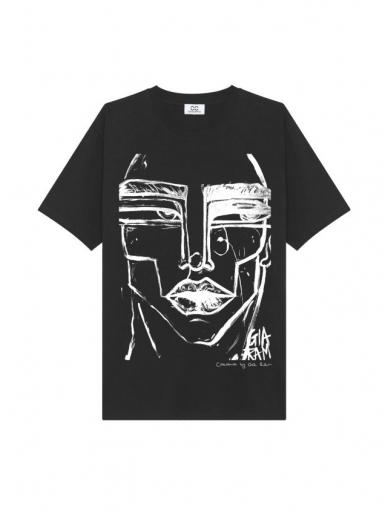 COOCOOMOS marškinėliai FACE