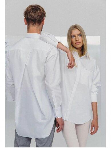 HUGINN MUNINN Uniseksiniai Hvelfing marškiniai 8