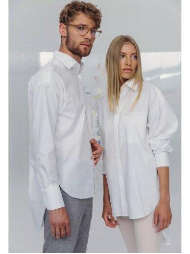 HUGINN MUNINN Uniseksiniai Hvelfing marškiniai