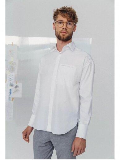 HUGINN MUNINN Uniseksiniai Hvelfing marškiniai 10