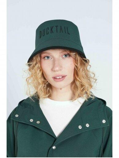 Ducktail rainwear kepurė