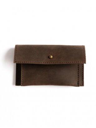 ELF BREAD  ruda odinė piniginė