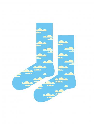 Funky Fellas kojinės Cloudy socks