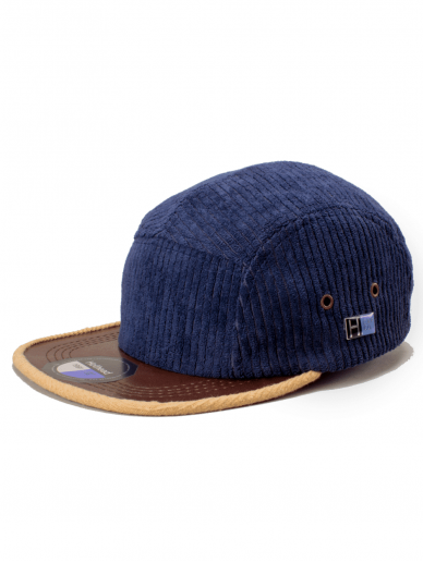 Hothead Cap Co. Mėlyno velveto five panel kepurė