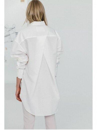 HUGINN MUNINN Uniseksiniai Hvelfing marškiniai su linu 3