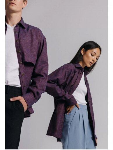 HUGINN MUNINN Uniseksinis Heimdallur švarkas- marškiniai 6