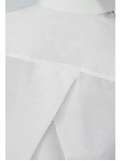 HUGINN MUNINN Uniseksiniai Hvelfing marškiniai su linu 5