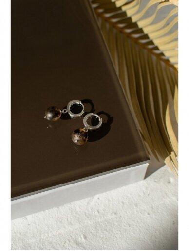 Ketri Amber Jewelry auskarai