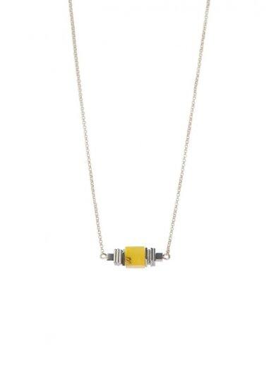 Ketri Amber Jewelry kaklo papuošalas su gintaru