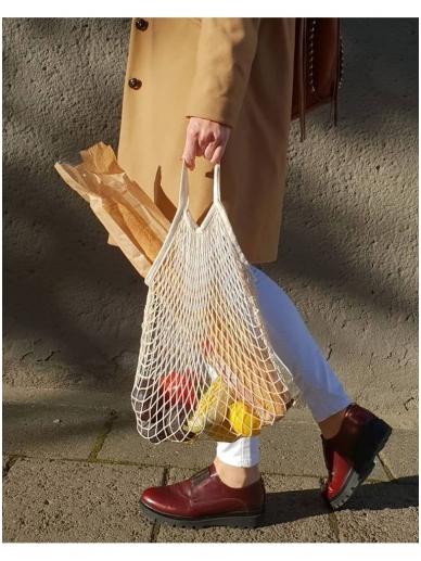 Kitokia Mintis medvilnės tinklinis krepšys - REZGYNĖ 2