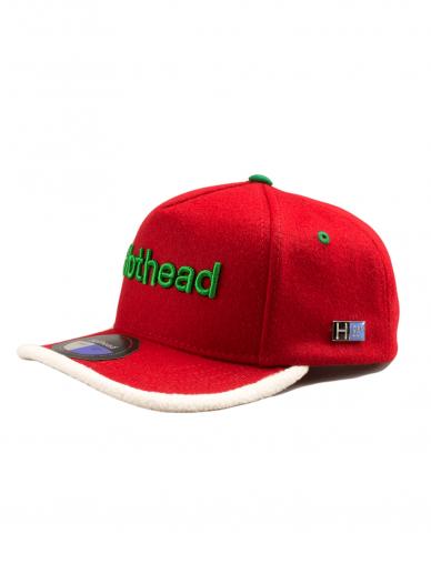 Hothead Cap Co. Raudona snapback kepurė (Kalėdinė kepurė)