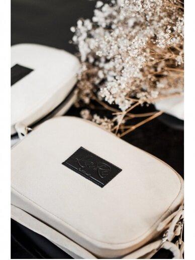 """LaRI Maža minimalistinio stiliaus rankinė """" Vanilinė svajonė"""" 3"""