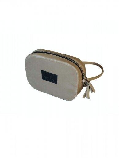 """LaRI Maža minimalistinio stiliaus rankinė """" Vanilinė svajonė"""""""
