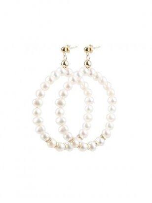 New vintage perlų auskarai