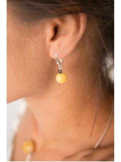 Ketri Amber Jewelry auskarai 3