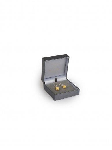 Ketri Amber Jewelry auskarai 2