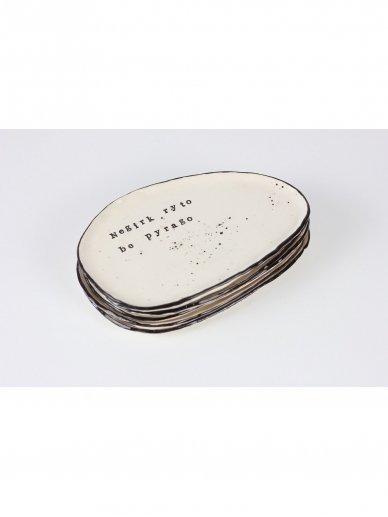 RaMi keramika lėkštė 2