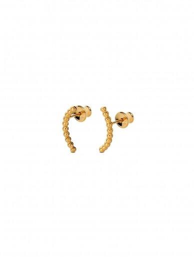 NO MORE auskarai CHAMPAGNE EARRINGS GOLD