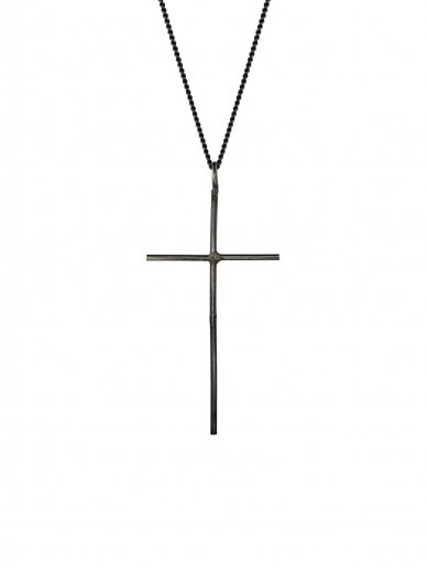 NO MORE kaklo papuošalas CROSS NECKLACE