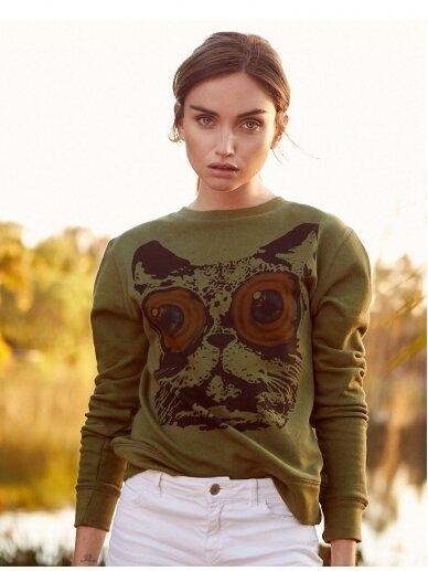 SILE kašmyro ir medvilnės džemperis