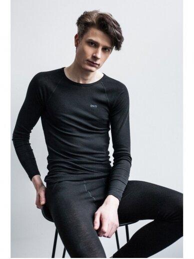 OWN WEAR  Vyriški merino vilnos apatiniai marškinėliai SKIN TOP M
