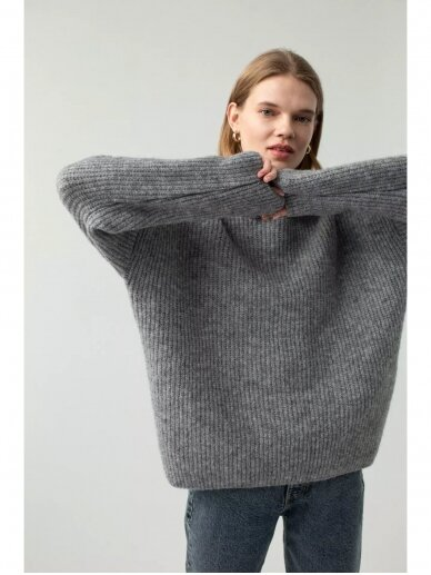 ROBI AGNES megztas džemperis LOU GREY 12