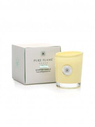PURE FLAME Adore  FLOWER POWER kvepianti žvakė