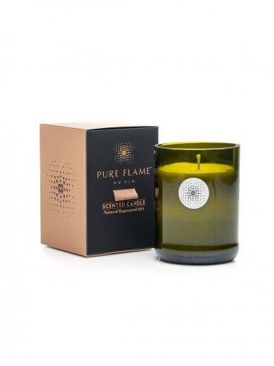PURE FLAME Du Vin VIN & BOIS kvepianti žvakė, 260g