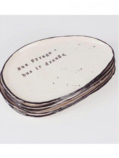 RaMi keramika lėkštė