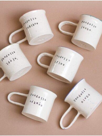 RaMi keramika puodelis-logikos