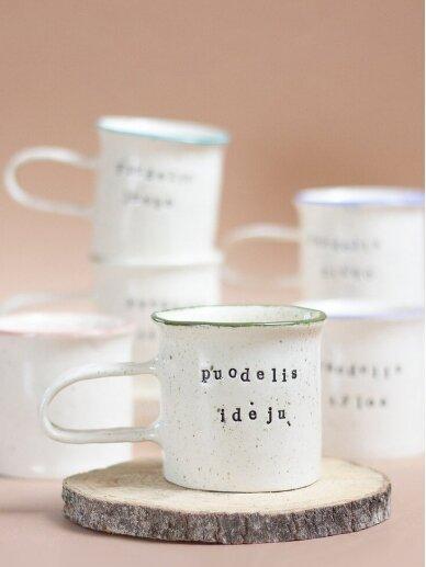 RaMi keramika puodelis-idėjų