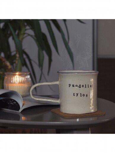 RaMi keramika puodelis- tylos 4