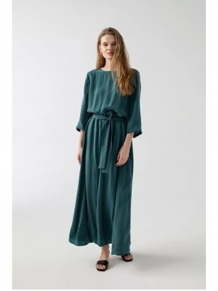 ROBI AGNES suknelė LILI emerald green