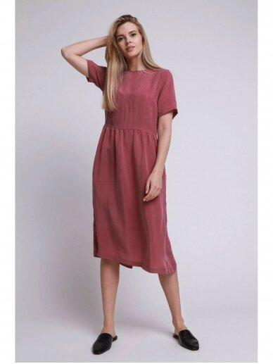 ROBI AGNES suknelė Elle dusty pink